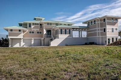 Beverly Beach, Flagler Beach, Palm Coast Single Family Home For Sale: 2590 Palm Ave