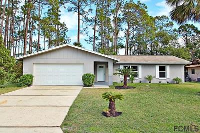 Palm Coast Single Family Home For Sale: 67 Forsythe Ln