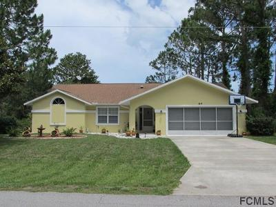 Palm Coast Single Family Home For Sale: 64 Felshire Lane
