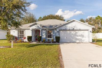 Palm Coast Single Family Home For Sale: 28 Ulbright Court