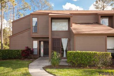 Palm Coast FL Condo/Townhouse For Sale: $125,000