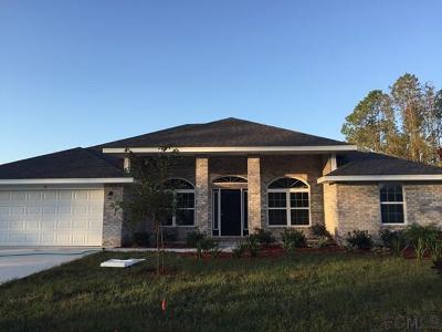 Palm Coast FL Single Family Home For Sale: $238,650