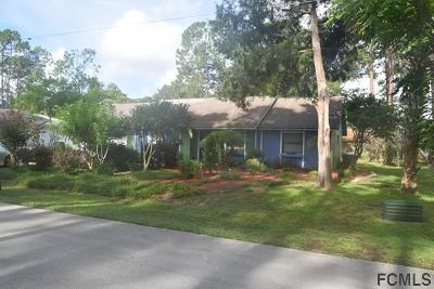 Palm Coast FL Single Family Home For Sale: $157,000