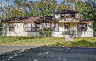 Bunnell Single Family Home For Sale: 200 Anderson St N