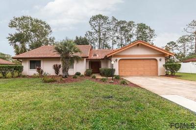 Palm Coast Single Family Home For Sale: 5 Village Ln