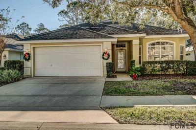 Palm Coast FL Single Family Home For Sale: $238,900