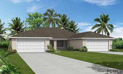 Palm Coast Multi Family Home For Sale: 6 Union Run Ct