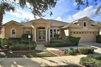 Palm Coast FL Single Family Home For Sale: $349,000