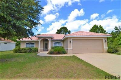 Palm Coast Single Family Home For Sale: 44 Radford Lane