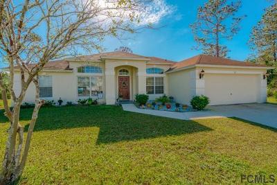 Palm Coast Single Family Home For Sale: 22 Sea Spiral Path