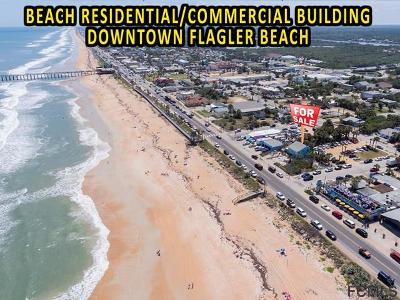 Flagler Beach Single Family Home For Sale: 409 Ocean Shore Blvd N