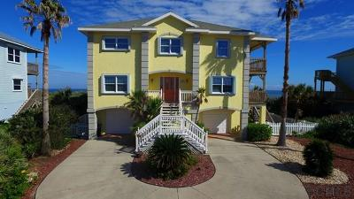 Flagler Beach Single Family Home For Sale: 3029 N. Ocean Shore Blvd