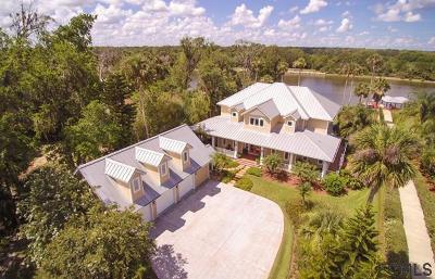 Beverly Beach, Flagler Beach, Palm Coast Single Family Home For Sale: 9 Hammock Oak Ct