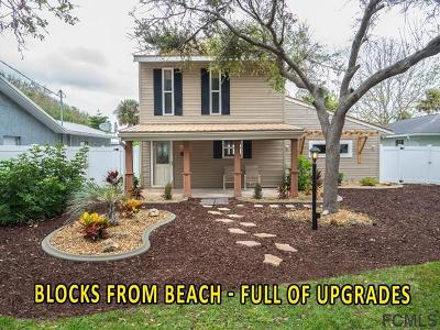 Flagler Beach Single Family Home For Sale: 1819 Flagler Ave S