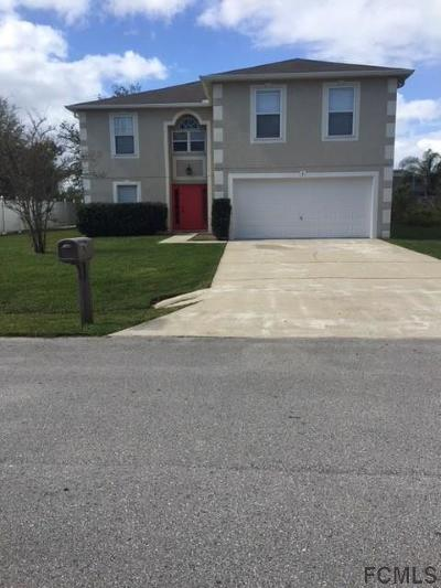 Palm Coast Single Family Home For Sale: 3 Butternut Dr