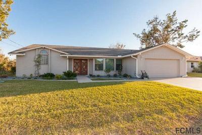 Palm Coast Single Family Home For Sale: 4 Calusa Court