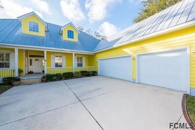 Flagler Beach Single Family Home For Sale: 6 Hanover Drive