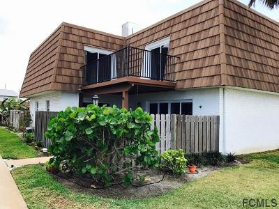 Flagler Beach FL Condo/Townhouse For Sale: $255,000