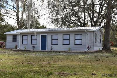 Bunnell Single Family Home For Sale: 1278 Aspen St