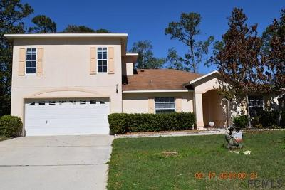 Palm Coast FL Single Family Home For Sale: $195,000