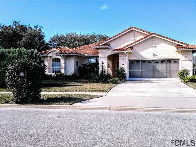 Palm Coast Single Family Home For Sale: 64 Mount Vernon Lane