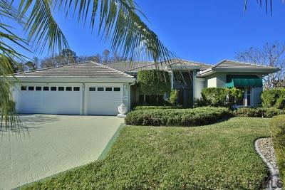 Plantation Bay Single Family Home For Sale: 49 Bay Pointe Dr