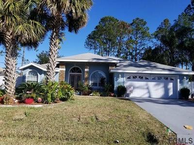Palm Coast Single Family Home For Sale: 2 Burrell Place