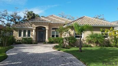 Palm Coast Plantation Single Family Home For Sale: 45 N Riverwalk Dr