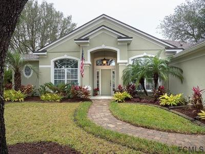 Palm Coast FL Single Family Home For Sale: $342,000