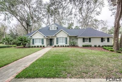 Flagler Beach Single Family Home For Sale: 2 Bulows Landing