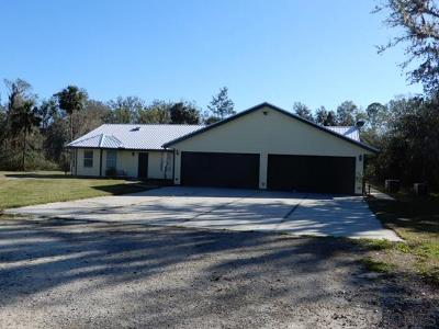 Bunnell Single Family Home For Sale: 665 Cr 2006 W