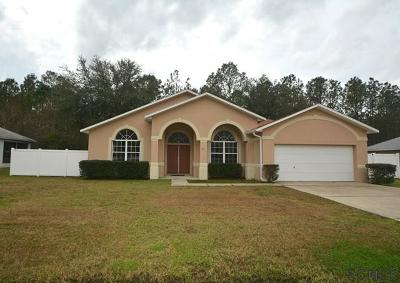 Palm Coast FL Single Family Home For Sale: $197,000
