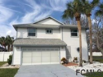 Palm Coast FL Single Family Home For Sale: $335,000