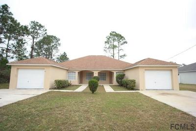 Palm Coast FL Multi Family Home For Sale: $270,000
