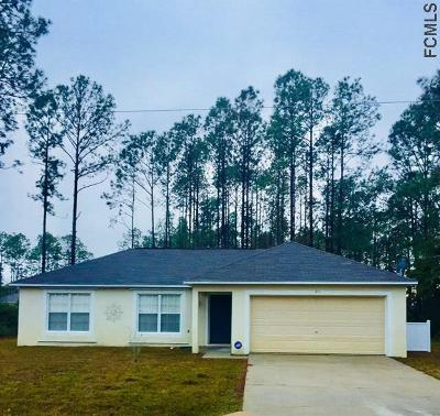Palm Coast FL Single Family Home For Sale: $150,000