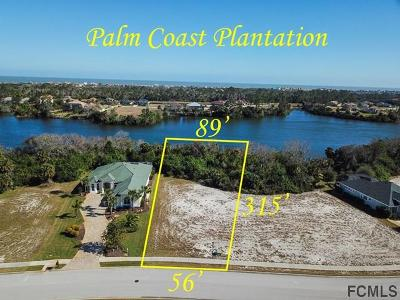 Palm Coast Plantation Residential Lots & Land For Sale: 82 Lakewalk Dr N