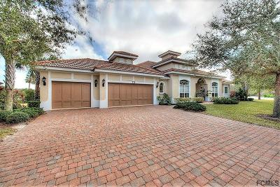 Palm Coast Single Family Home For Sale: 73 Ocean Oaks Ln