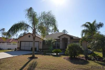 Palm Coast Single Family Home For Sale: 144 Whispering Pine Dr