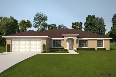 Palm Coast Single Family Home For Sale: 49 Ulysses Trl