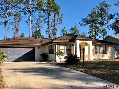 Palm Coast Single Family Home For Sale: 51 Wood Cedar Drive