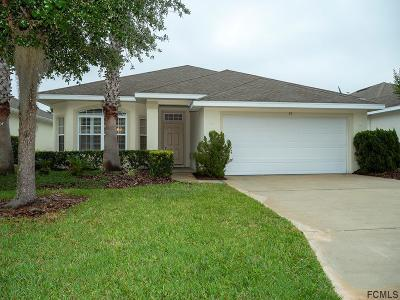 Palm Coast Single Family Home For Sale: 91 Raintree Cir