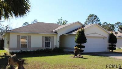 Palm Coast Single Family Home For Sale: 36 Port Royal Drive
