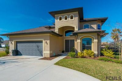 Flagler Beach Single Family Home For Sale: 1 Floral Court