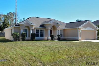 Palm Coast Single Family Home For Sale: 12 Bruce Lane