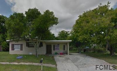 Daytona Beach Single Family Home For Sale: 1142 Berkshire Rd