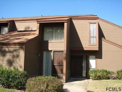 Palm Coast Condo/Townhouse For Sale: 22 Sherbury Court #22