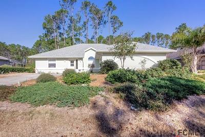 Palm Coast Single Family Home For Sale: 70 Whittington Drive