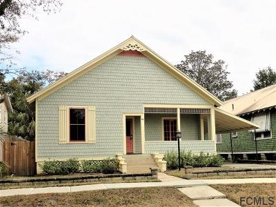 St Augustine Single Family Home For Sale: 44 Rohde Ave