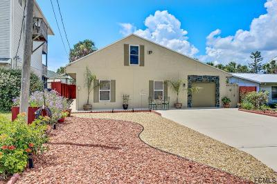 Flagler Beach Single Family Home For Sale: 305 N 6th St