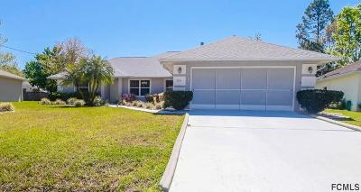 Palm Coast Single Family Home For Sale: 60 Bannbury Ln